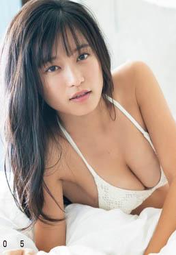 小島瑠璃子(24)の最新グラビアの胸チラ谷間がエロいww【エロ画像】