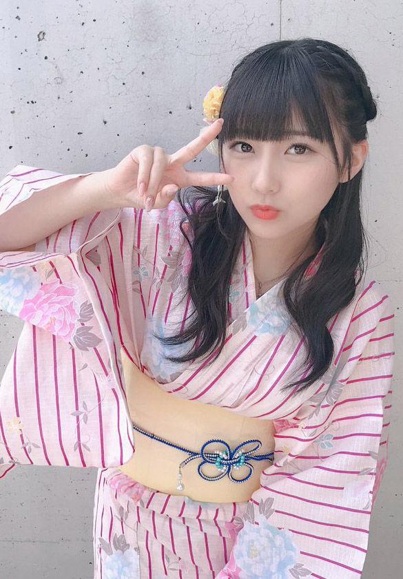 HKT48田中美久(16)の浴衣姿が透明感あってけしからんww【エロ画像】
