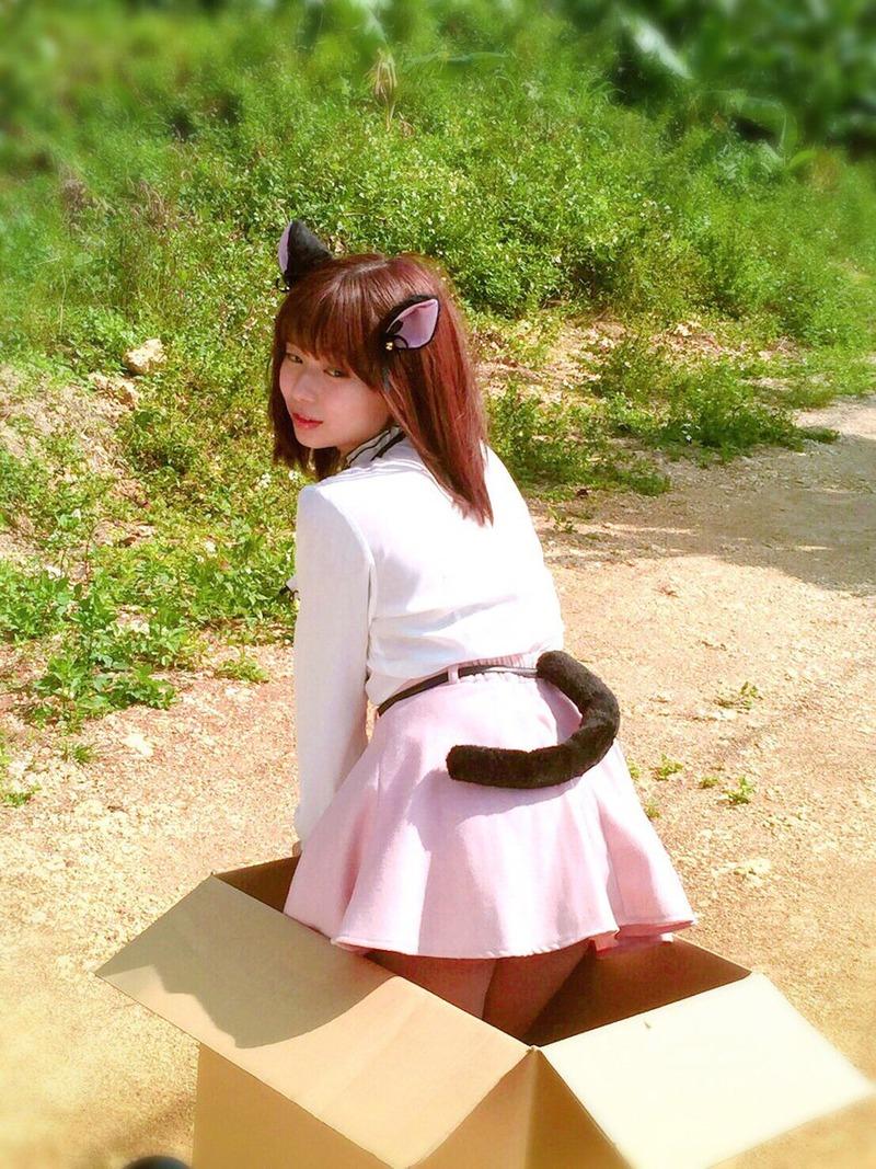 和地つかさ(24)ムチムチGカップボディの猫耳がエロカワww【エロ画像】