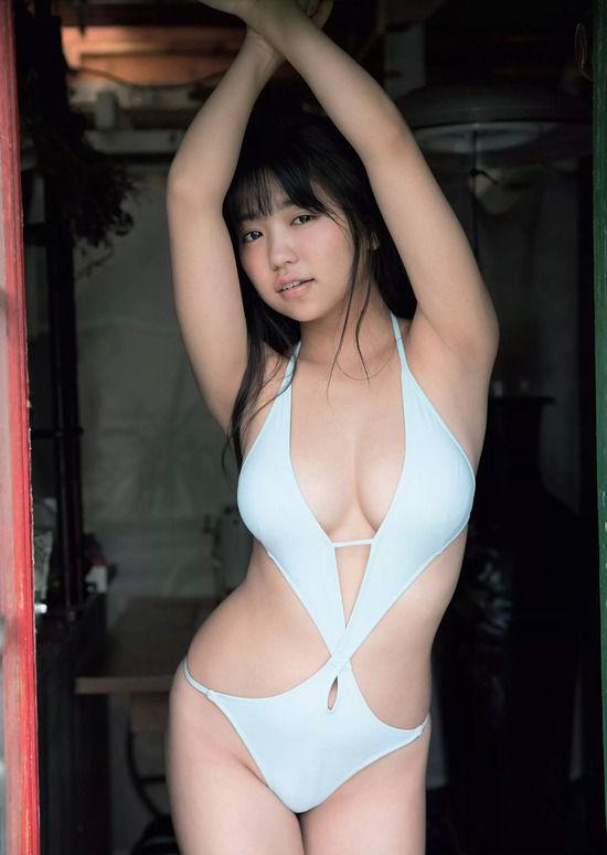 大原優乃(18)ド変態水着グラビアがぐうシコww【エロ画像】