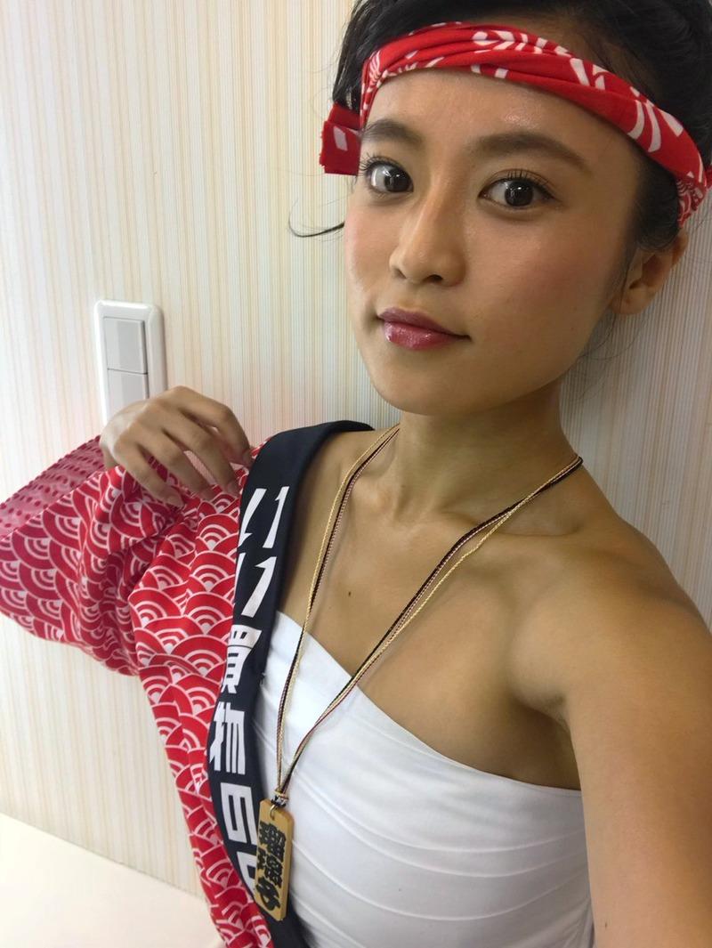 小島瑠璃子(23)YAHOOのCMのサラシ巻いた姿がエロいww【エロ画像】