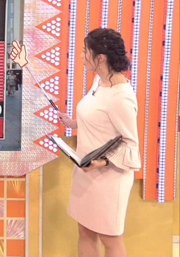 杉浦友紀アナ(34)着衣巨乳が迫力満点でぐうシコww【エロ画像】