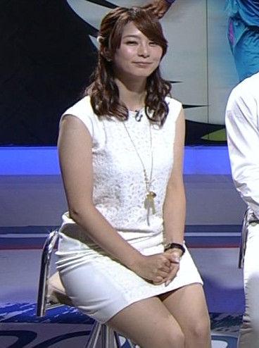 女子アナ一のドスケベボディ・杉浦友紀アナ(33)のおっぱいがデカすぎる!巨乳とデカ尻がたまらん!