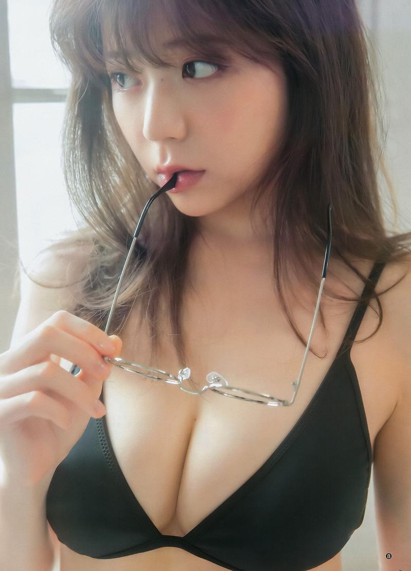 斎藤みらい(25)LARMEモデルの美尻、美乳グラビアがぐうシコww【エロ画像】