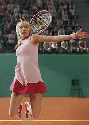 二階堂ふみ(22)ピーチ姫姿にテニスミニスカがぐうシコww【エロ画像】