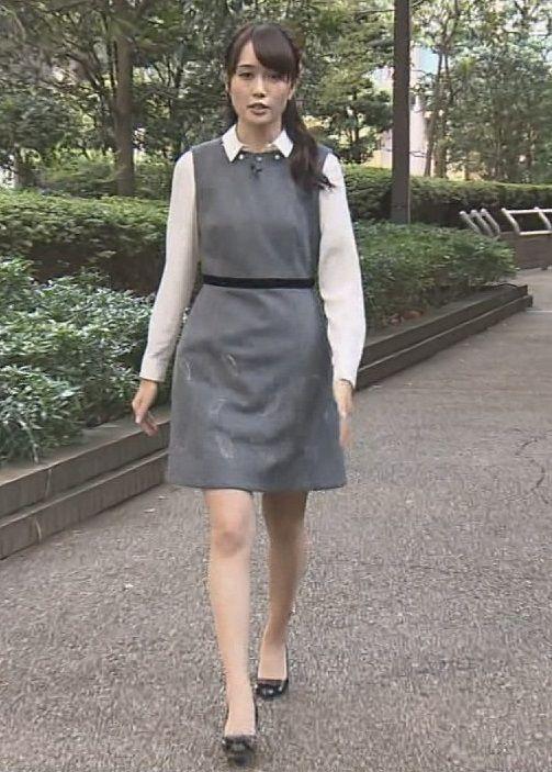 大澤亜季子アナ(26)の色白美脚がドスケベ過ぎるwww【エロ画像】