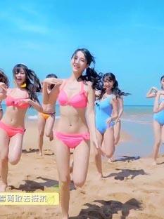 SNH48の水着姿のMVがくっそエロいww【エロ画像】