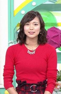 斎藤真美アナ(30)の着衣ニットのおっぱいがエロいww【エロ画像】