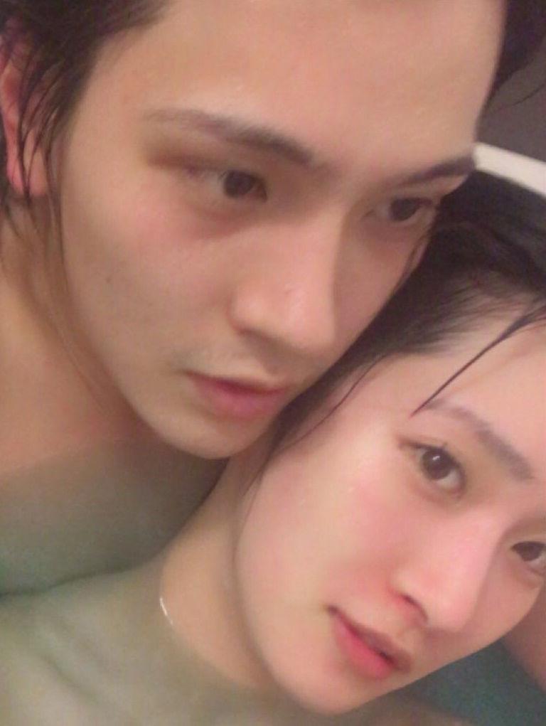橋本楓(21)元アイドリングの娘のラブラブ入浴写メが流出ww【エロ画像】