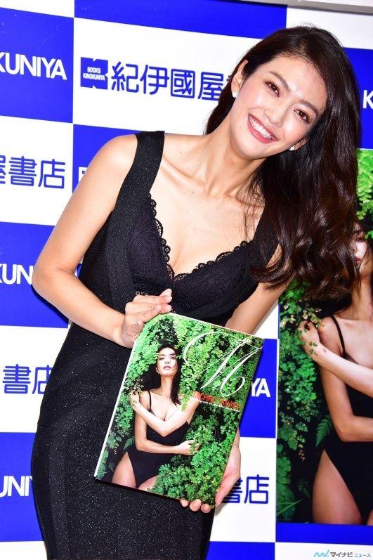 田中道子(27)初写真集でTバック下着を披露したセクシーモデルww【エロ画像】