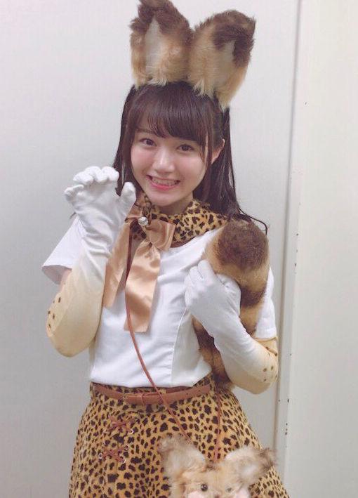 尾崎由香(24)けものフレンズ声優の女豹ポーズがぐうカワww【エロ画像】