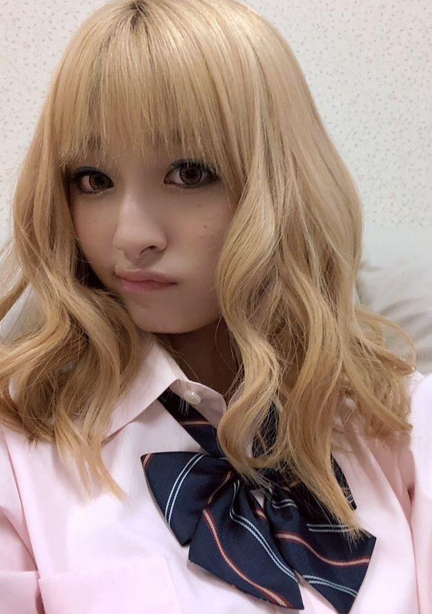 吉川愛(19)のギャルなりきり写真がエロすぎるww【エロ画像】