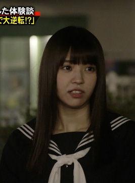 欅坂46小林由依(18)のゆいぽんのセーラー服姿がエロいww【エロ画像】