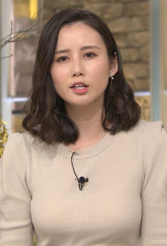 森川夕貴アナ(25)の着衣おっぱいがデカくてエロいww【エロ画像】