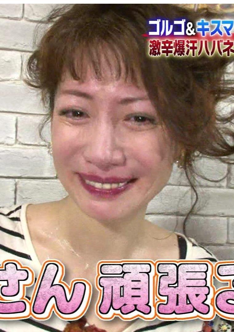 細川ふみえ(46)のTVで見せた汗だく姿がぐうシコww【エロ画像】