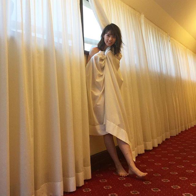 乃木坂・西野七瀬(22)インスタにうpされた画像が全裸カーテンみたいでクッソエロいんだがww【エロ画像】