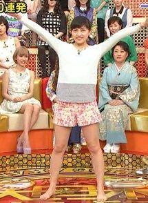 女優の川口春奈が太もも晒してエロダンスしてたから即シコタwwww【エロ画像】