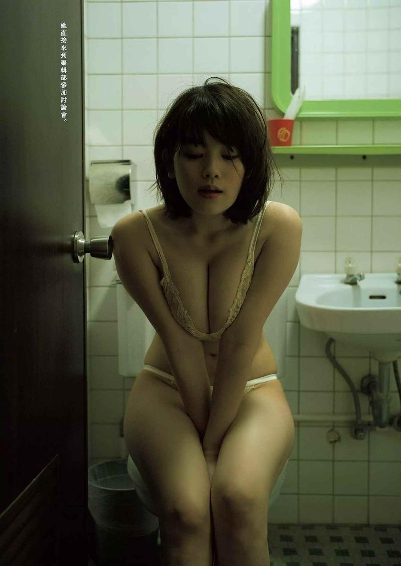 筧美和子(23)ムッチリ巨乳ボディの下着姿がけしからんww【エロ画像】
