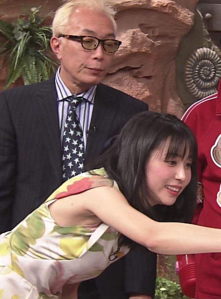 杉野真実アナ(27)のワキマンコが何とも卑猥で抜けるww【エロ画像】