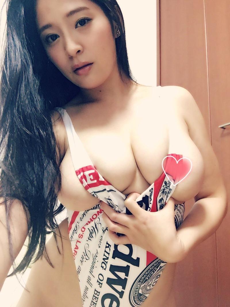 めぐり(27)Gカップ乳が半端なくエロいAV女優のツイッター自画撮りがぐうシコww【エロ画像】