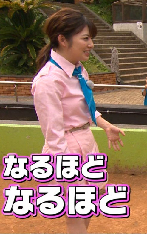 佐藤真知子アナ(25)の交尾を見て気まずそうな姿がなんかエロいww【エロ画像】