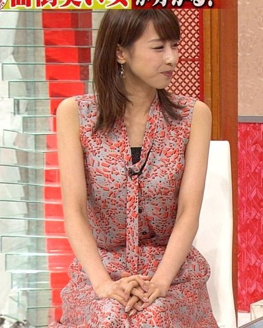 加藤綾子アナの二の腕と脇マンがエロい!現役No.1美女アナウンサーの美脚がたまらん【エロ画像】